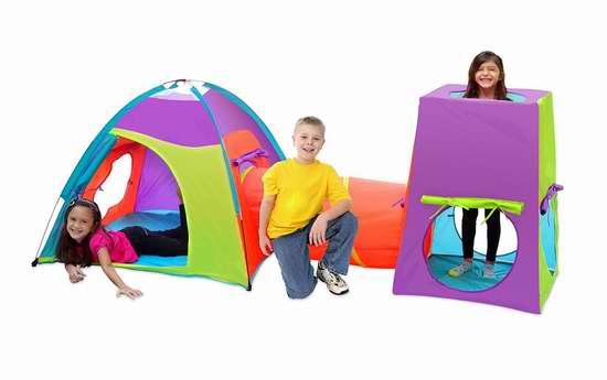 历史新低!GigaTent Ct 021 三合一儿童游戏帐篷 37.16加元限时特卖并包邮!