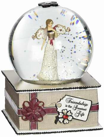 历史新低!Modeles by Pavilion Gift 6英寸音乐水晶球4.4折 16.79加元限时特卖!