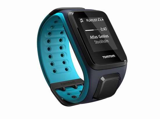 历史新低!TomTom Spark GPS Music Plus 音乐健身手表 217.48加元限时特卖并包邮!