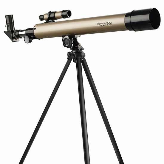历史新低!Educational Insights Vega 600 天文望远镜4.7折 42.63加元限时特卖并包邮!