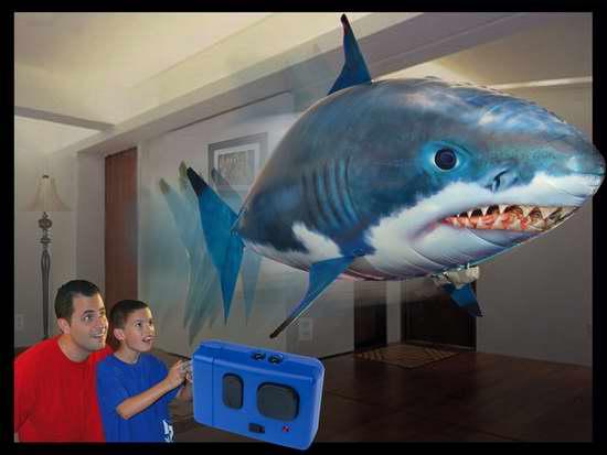 William Mark 充气式遥控飞行鲨鱼 50加元限时特卖并包邮!