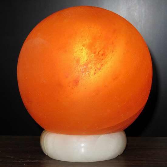 历史新低!Deluxe Comfort WRS-AB-LAMP 6英寸纯天然负离子水晶盐灯4折 31.83加元限时特卖!