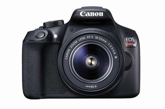历史最低价!Canon 佳能 EOS Rebel T6 单反相机 + EF-S 18-55mm DC III 镜头套装6.1折 398加元包邮!