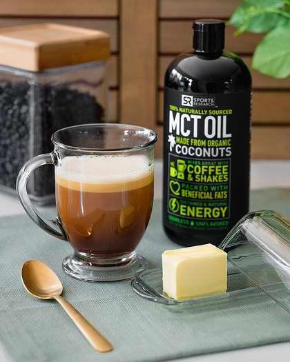 手慢无!爆款减肥瘦腹产品!Sports Research Premium MCT 纯天然有机椰子油32盎司 37.39加元限量特卖并包邮!