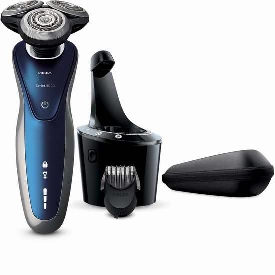 历史新低!Philips 飞利浦 S8950/90 8000系列干湿两用电动剃须刀5.7折 169.99加元包邮!