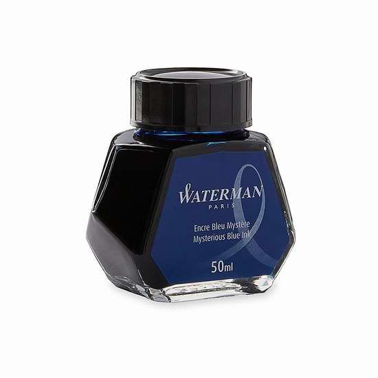历史新低!Waterman S0110790 深蓝色钢笔墨水 9.96加元限时特卖!