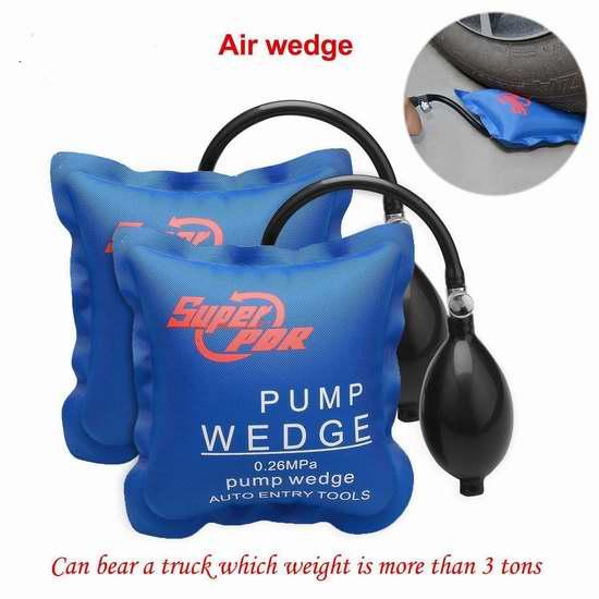 FLY5D 家用手动充气式千斤顶气垫两件套 20.39加元限量特卖!