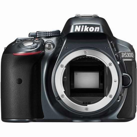 历史新低!Nikon 尼康 D5300 单反相机机身(不含镜头) 507.03加元限时特卖并包邮!