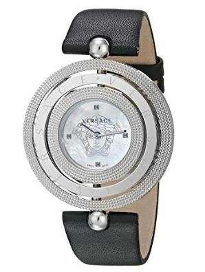 历史新低!Versace 范思哲 VQT010015 Eon 三层表盘 女式时尚镶钻腕表/手表5.1折 600.2加元限时特卖并包邮!
