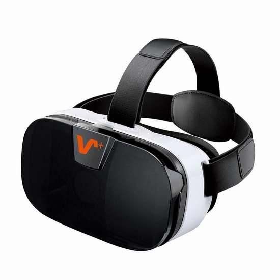手慢无!Vox Gear Plus 3D VR 虚拟现实眼镜2.6折 10加元限量特卖!