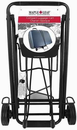 历史最低价!Maple Leaf ML6226BK 紧凑型行李拖车 23.99加元限时特卖!