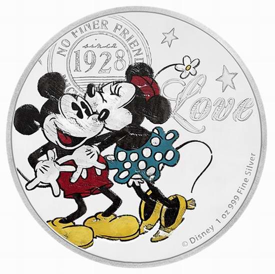 精选多款 Disney 迪士尼系列纪念币销售并包邮!