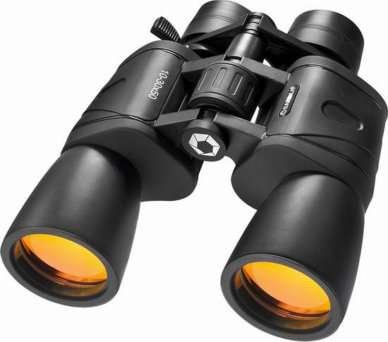 历史新低!Barska AB10168 10-30x50 双筒望远镜 39.23加元限时特卖并包邮!