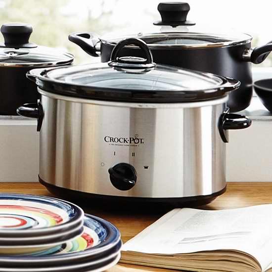 历史最低价!Crock-Pot 4夸脱不锈钢慢炖锅5.5折 18加元限时特卖!
