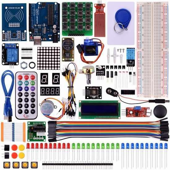 Kuman RFID 入门学习套件 47.59加元限量特卖并包邮!