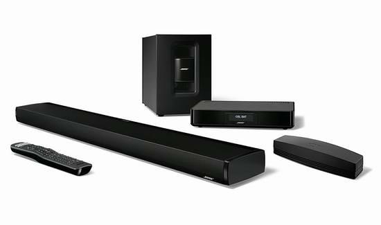 历史新低!Bose SoundTouch 130 妙韵 蓝牙+WiFi 无线家庭影院系统6.5折 1171.99加元限时特卖并包邮!