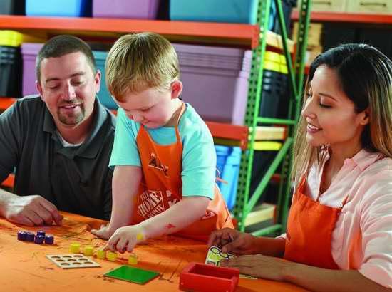 Home Depot 6月10日、24日免费儿童手工课,制作三连棋游戏和工具箱,本月另有3个家庭装修免费课程!