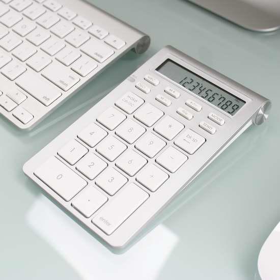 Satechi 便携式铝合金计算器/无线蓝牙26键数字录入扩展键盘2.3折 9.53加元限量特卖并包邮!