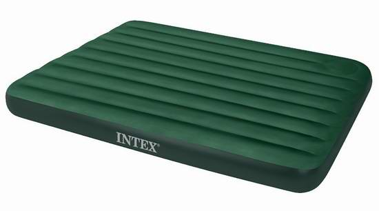历史新低!Intex Downy Queen 充气床+内置充气泵6.1折 24.35加元!