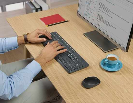 历史新低!Logitech 罗技 MK235 无线键盘鼠标套装 29.76加元限时特卖!