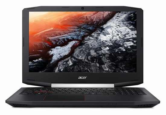历史新低!Acer 宏碁 Aspire 15.6英寸游戏笔记本电脑 999.99加元限时特卖并包邮!
