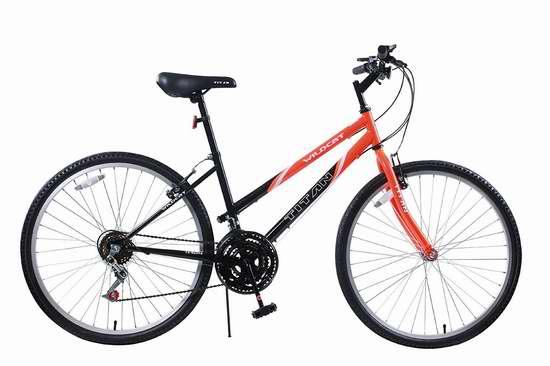 白菜价!历史新低!Titan 101-8615 Wildcat 26英寸12速变速山地自行车3.5折 75.26加元限时清仓并包邮!
