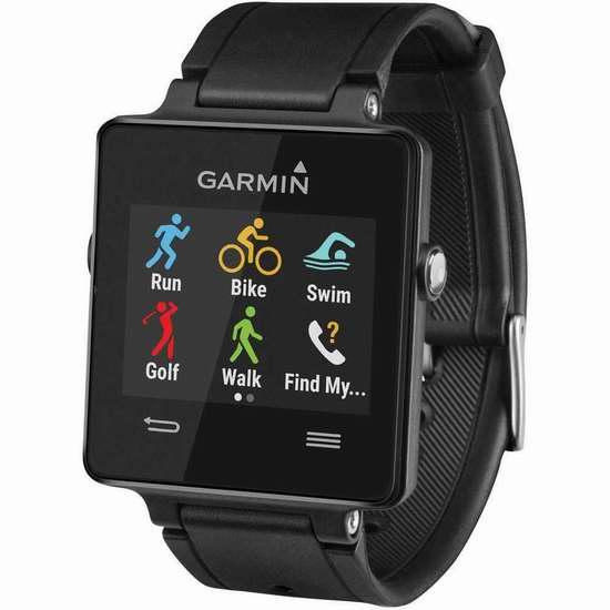 历史最低价!Garmin Vivoactive GPS 运动智能手表3.9折 124.99加元包邮!
