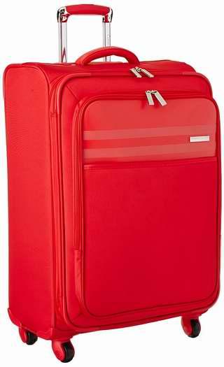 历史新低!Calvin Klein Greenwich 2.0 25英寸红色拉杆行李箱2.5折 47.65加元限时清仓并包邮!