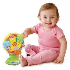 VTech 伟易达 Lil' Critters宝宝摩天轮音乐玩具 12.97加元,原价 17加元