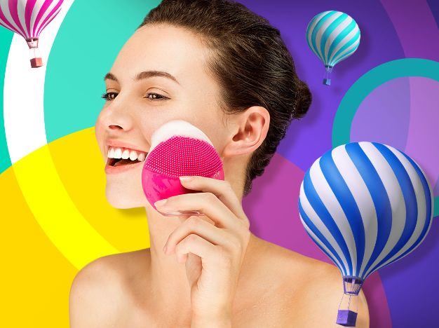 FOREO LUNA 露娜 Play Plus 玩趣增强版洗脸刷 55.2加元(6色)!