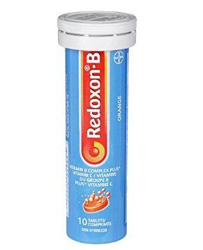Bayer Redoxon 维生素B泡腾片 4.11加元,原价 8.26加元
