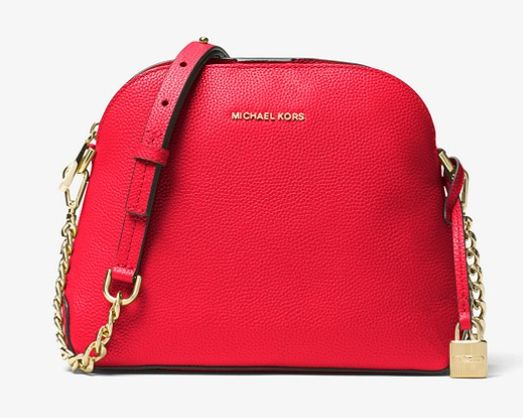 Michael Kors Studio Mercer 红色贝壳包 154.8加元,原价 258加元,包邮