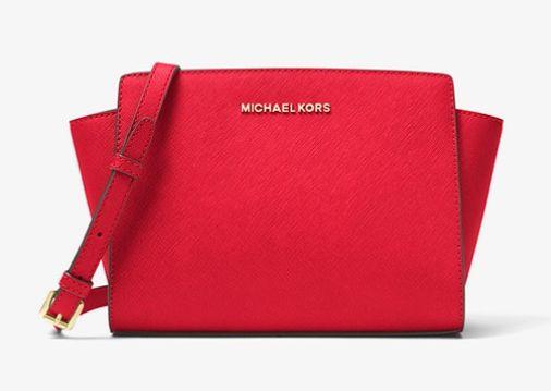 Michael Kors Selma中号耳朵包 125.1加元,原价 268加元,包邮