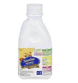 Similac 雅培 Omega 即开即饮配方液体奶 9.48加元(945ml),原价 10.99加元