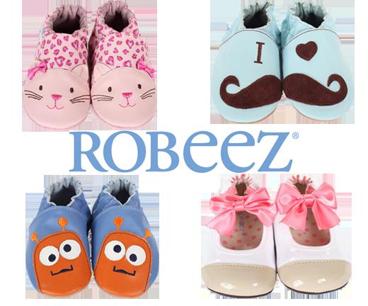 Robeez 官网促销,全场婴儿学步鞋 3.7折起特卖!