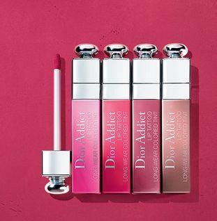 新品瘾诱超模染唇露!Dior 迪奥 彩妆口红护肤/香水产品 全场9折优惠!