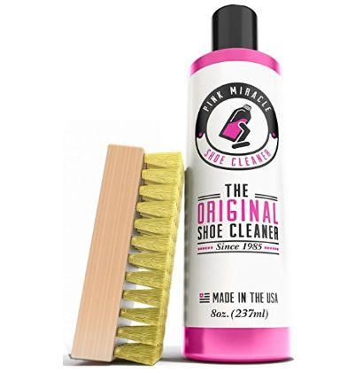 护鞋神器!Pink Miracle 鞋履清洁剂+鞋刷套装 26.97加元特卖!