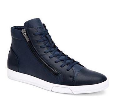 CALVIN KLEIN Berke男士高帮休闲鞋 99.99加元,原价 175加元,包邮