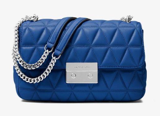Michael Kors Sloan蓝色大号链条包 220.8加元,原价 368加元,包邮