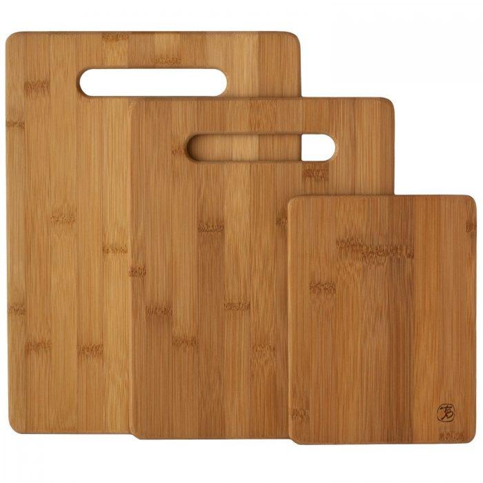 Totally Bamboo 竹制菜板三件套 19.99加元特卖!