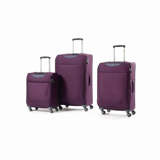 Samsonite 新秀丽 Base Hits 20/25/29寸 软壳可扩展拉杆行李箱68加元起限时特卖并包邮!4色可选!