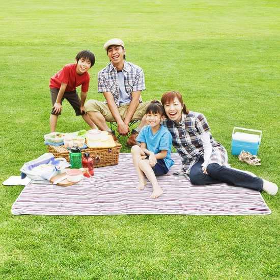 历史新低!HOMFA 便携式户外防水野餐垫/睡垫 19.99加元限量特卖!
