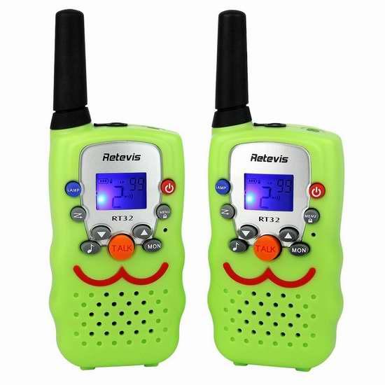 Retevis RT32 儿童远距离无线手台对讲机 30.59加元限量特卖并包邮!