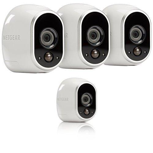 金盒头条:历史新低!Netgear 网件 Arlo 爱洛 高清智能家庭4无线摄像头监控系统 495加元限时特卖并包邮!