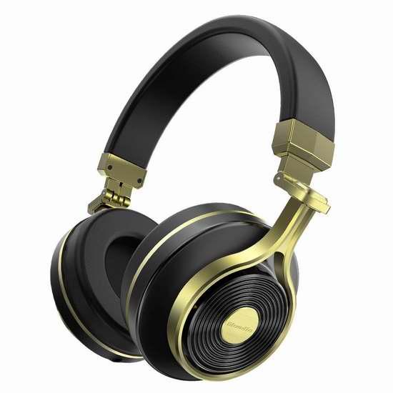 Bluedio 蓝弦 T3 (Turbine 3rd)蓝牙无线头戴式耳机 36.99加元限量特卖并包邮!4色可选!
