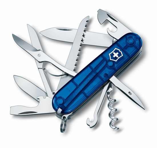 历史新低!Victorinox Swiss Army 维氏正宗瑞士军刀 15功能猎人口袋刀 35.95加元限时特卖并包邮!