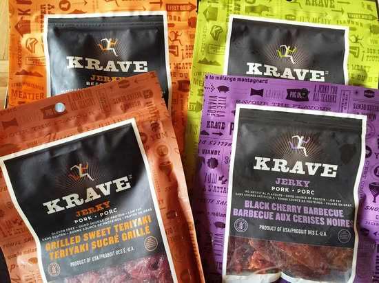 精选5款 Krave 纯天然无防腐剂牛肉干、猪肉干(75克装) 3.72加元限时特卖!