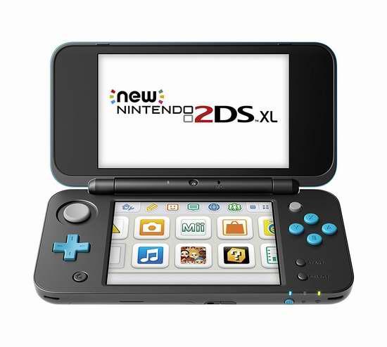 新版 New Nintendo 任天堂 2DS XL 掌上游戏机 169.99加元包邮!