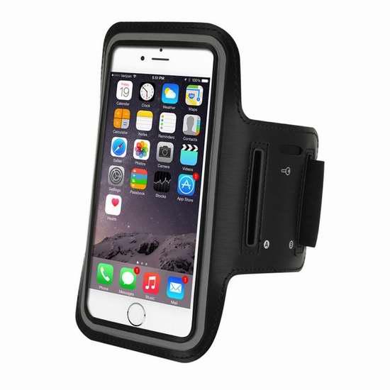 独家:Refoss 5.5英寸智能手机 防水防汗弹性运动臂带 6.99加元!