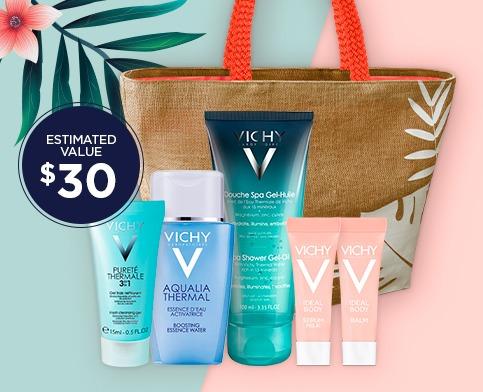Vichy 薇姿 全场夏季护肤品8折特卖!满60加元再送价值30加元5件套大礼包!